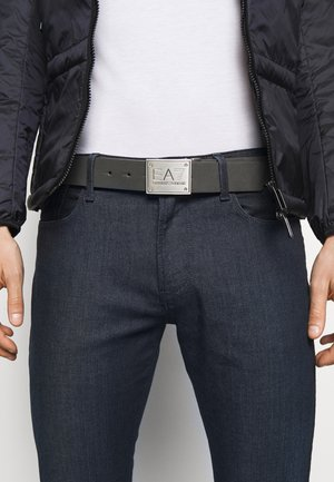 UNISEX - Belt - black/grey