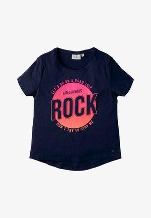 MIT PRINT - Print T-shirt - kids peacoat blue
