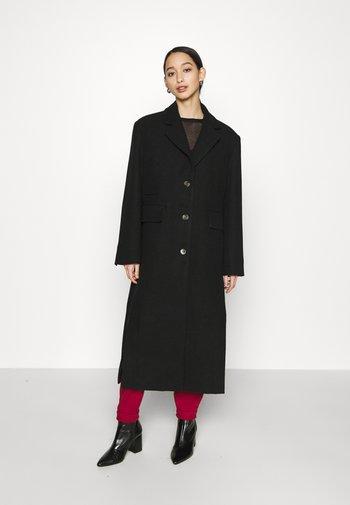 LAYA - Classic coat - black