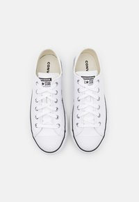 Converse - CHUCK TAYLOR ALL STAR PLATFORM  - Trainers - white/black/egret - 3