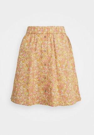 YASMIMA SKIRT - Mini skirt - tan/mima