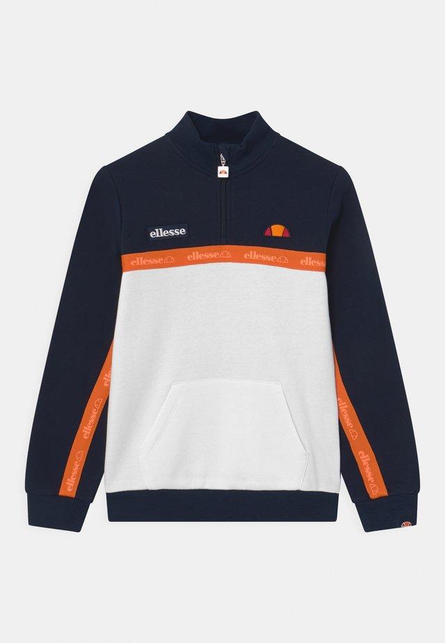 ZIP TRACK  - Sweatshirt - navy