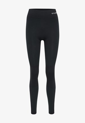 Leggings - black melange