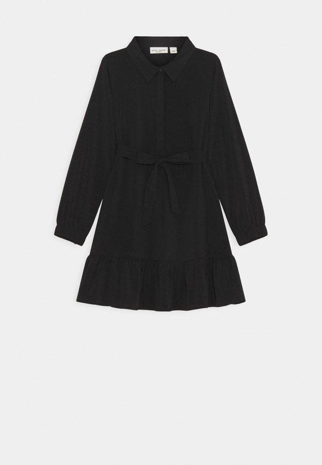 NKFVINAYA DRESS - Shirt dress - black