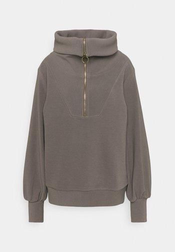 VINE HALF ZIP - Sweatshirt - deep charcoal