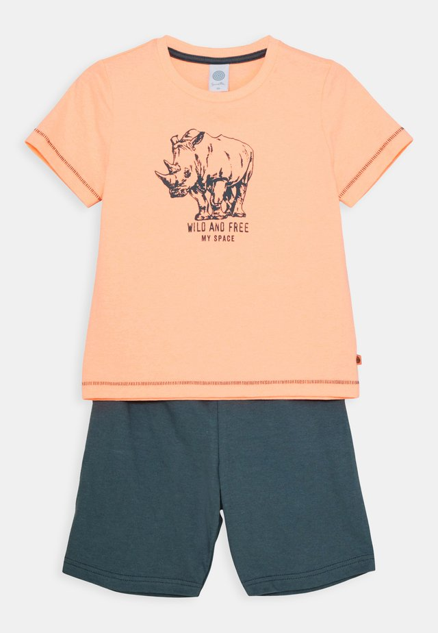 MINI SHORT SET - Pigiama - neon melon