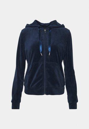 CECILIA HOODIE - Sweater met rits - evening blue