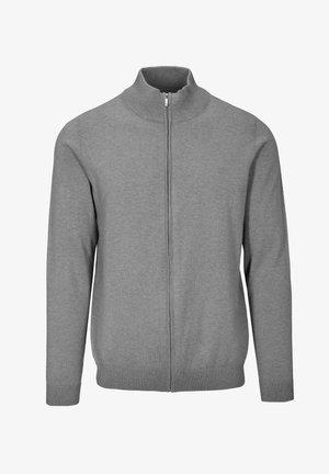 MIT STEHBUND - Zip-up sweatshirt - 803 grey mel.