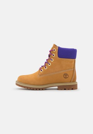 6IN HERT CUPSOLE - Lace-up ankle boots - wheat/purple