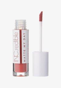 INC.redible - INC.REDIBLE MATTE MY DAY LIQUID LIPSTICK - Liquid lipstick - 10064 endless ambition - 0