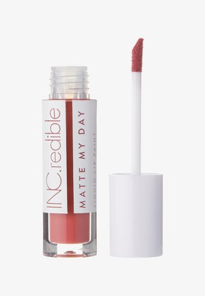INC.REDIBLE MATTE MY DAY LIQUID LIPSTICK - Liquid lipstick - 10064 endless ambition