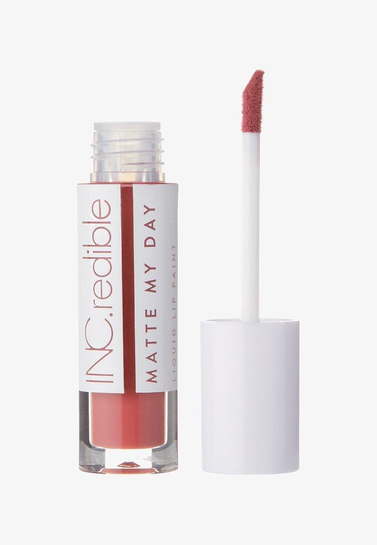 INC.redible - INC.REDIBLE MATTE MY DAY LIQUID LIPSTICK - Liquid lipstick - 10064 endless ambition