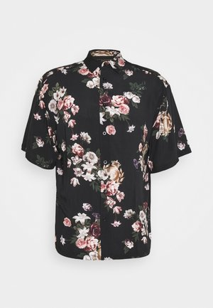 PRESTIGE FLORAL RESORT - Shirt - black