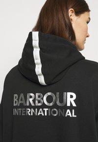 Barbour International - LUNAR OVERLAYER - Hoodie - black - 3