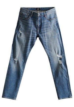 Jeans slim fit - kirby mid blue rip