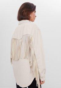 Bershka - Summer jacket - white - 2