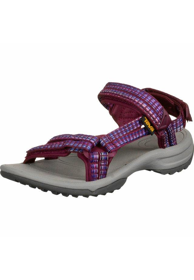 TERRA FI LITE - Walking sandals - red plum