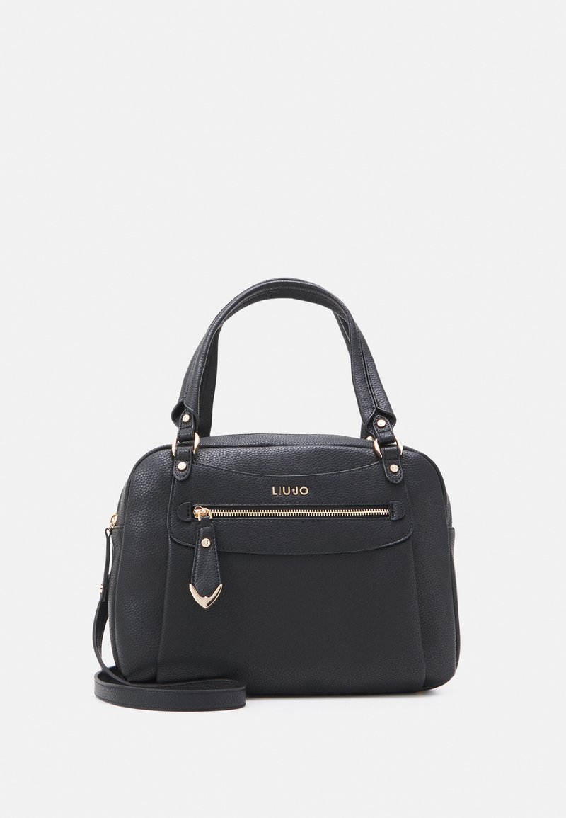 LIU JO - SATCHEL POCKET - Håndveske - nero