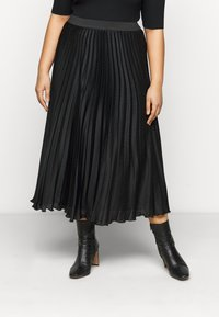 Persona by Marina Rinaldi - CARDINE - Pleated skirt - black - 0