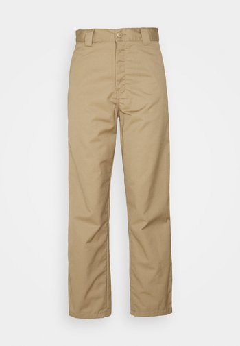MASTER PANT - Trousers - leather