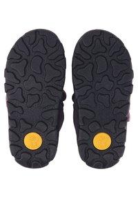 Lurchi - KINA-SYMPATEX - Touch-strap shoes - dunkellila - 4