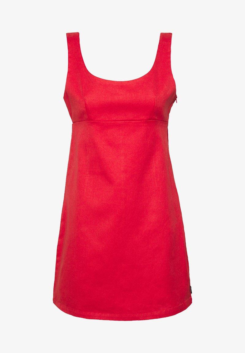 Afends - ROMY - Denim dress - flame red