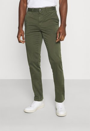 BLEECKER FLEX - Kangashousut - army green