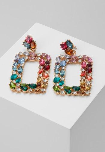 Earrings - gold-coloured/multi