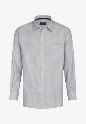 STYLISH STRIPED - Shirt - silberfarben