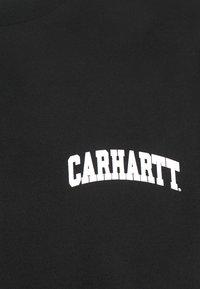 Carhartt WIP - UNIVERSITY SCRIPT - T-shirt imprimé - black/white - 2