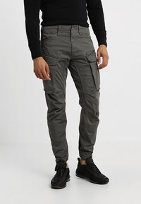 G-Star - ROVIC ZIP 3D STRAIGHT TAPERED - Cargobukser - grey - 0