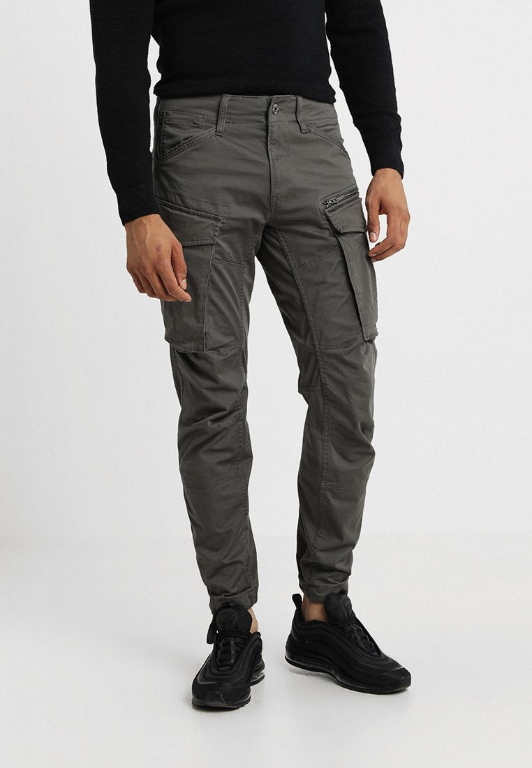 G-Star - ROVIC ZIP 3D STRAIGHT TAPERED - Cargobukser - grey