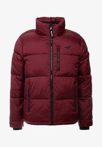 Hollister Co. - PUFFER MOCK BURG - Winter jacket - burgundy - 5