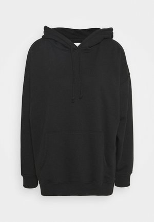 SOLID HOODIE - Sweatshirt - true black