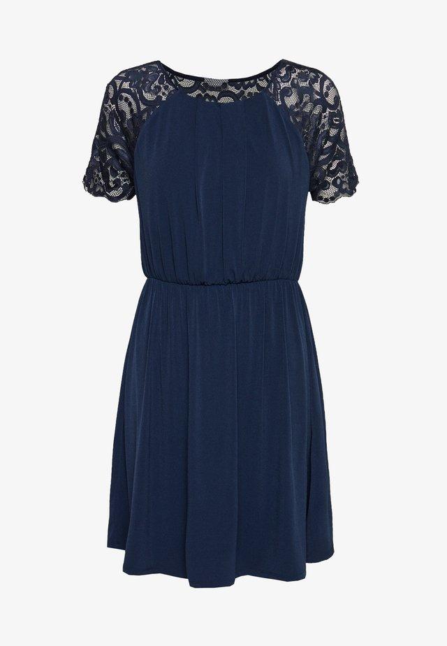 VITAINI DRESS - Jersey dress - navy blazer