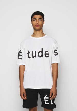 MUSEUM UNISEX - T-shirt print - white