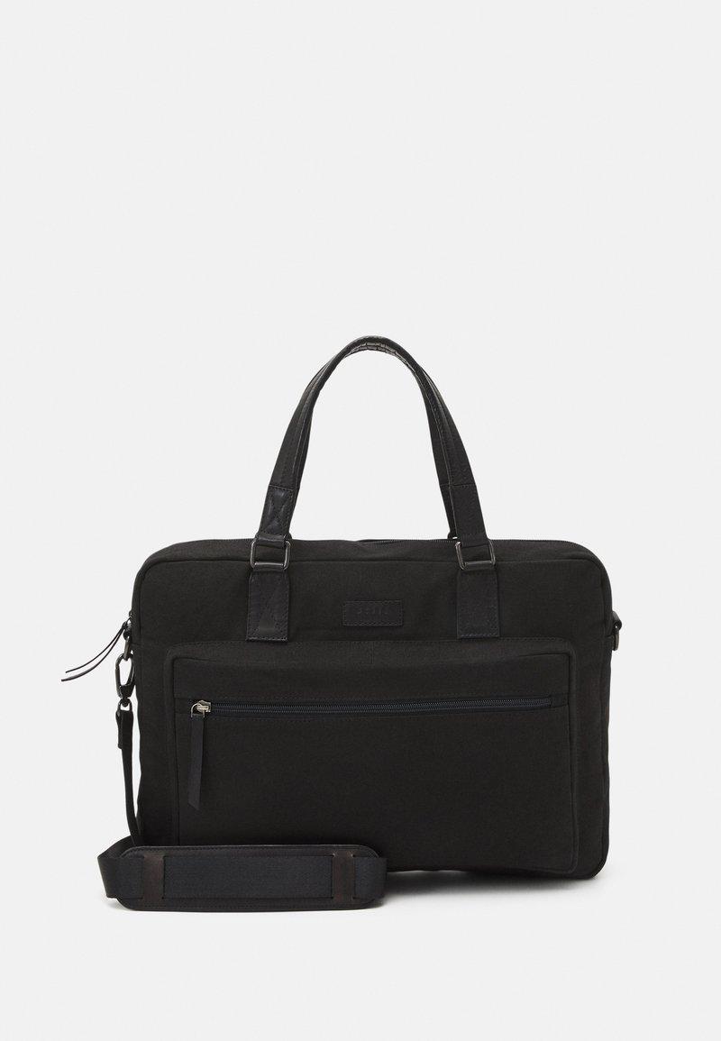 Still Nordic - ZAYNE BRIEF ROOM - Laptop bag - black