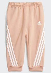 adidas Performance - I FI SHINY TS SET - Trainingspak - pink - 2