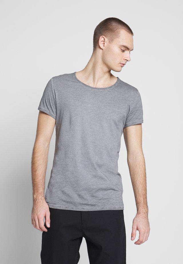 VITO SLUB - Triko spotiskem - vintage grey