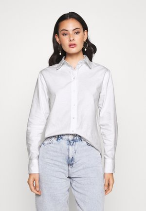 FREYA - Button-down blouse - white