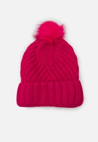 Marks & Spencer London - GEO BOBBLE HAT - Beanie - hot pink - 1