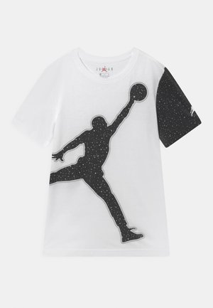 JUMBO JUMPMAN SPECKLE TEE - T-Shirt print - white