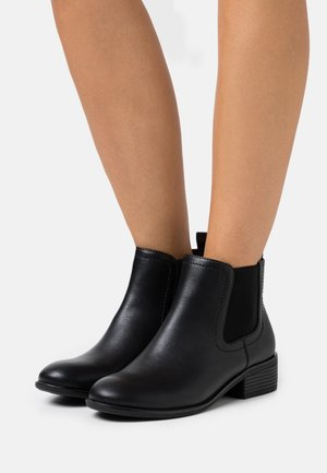 WIDE FIT MAPLE CHELSEA  - Ankle boots - black