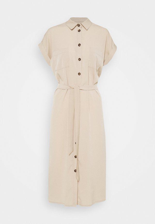 ONLHANNOVER SHIRT DRESS - Shirt dress - humus