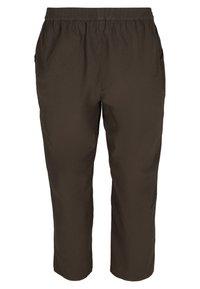 Zizzi - Trousers - khaki green - 1