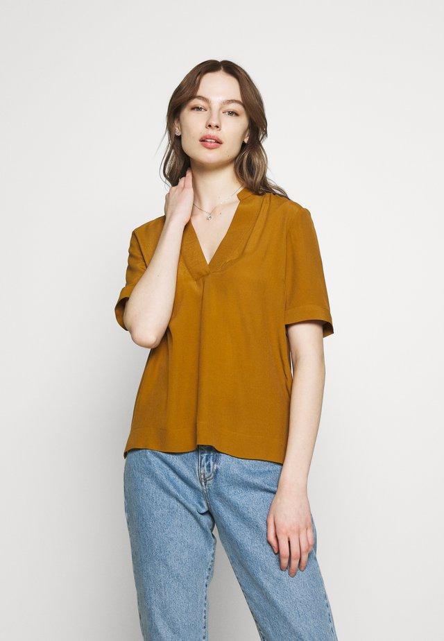 SLFELLA - Bluse - bronze brown