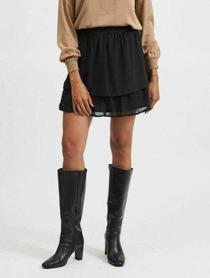 VILEOA HW - A-line skirt - black