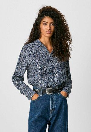 Button-down blouse - multi