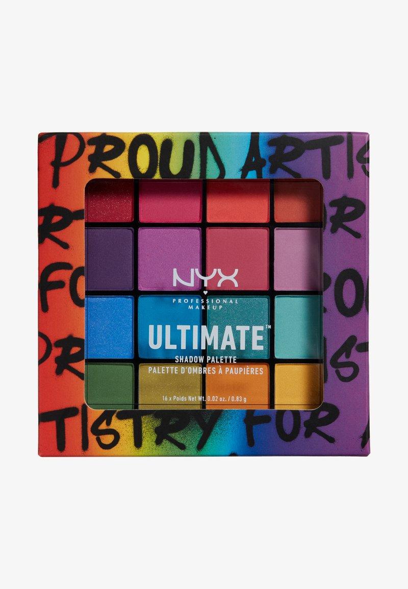 Nyx Professional Makeup - ULTIMATE SHADOW PALETTE BRIGHTS PRIDE EDITION - Paleta cieni - brights