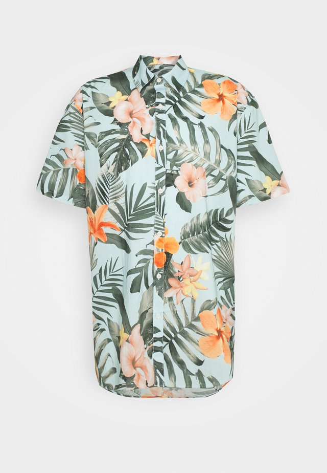 FLORAL HAWAII - Shirt - pastel blue